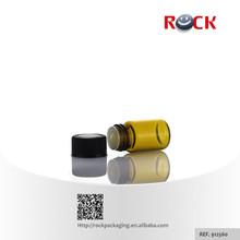 Hot sale 5/8 dram 2ml 1ml perfume borosilicate amber tubular glass vials