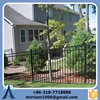 new design PVC coated wrought iron fence panels with high quality and best price