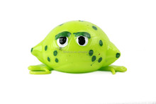 Promotional splat venting ball,squeeze water ball, animal design water toy