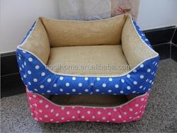 warm indoor fabric dog house heated comfortable dog house