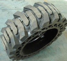 10-16.5 12-16.5 skid steer solid tires with Wheel