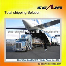 Door to door delivery service from China to Ivory Coast---SEA&AIR