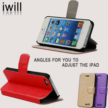 1 dollar leather phone case for iphone 5 .cheapest in china