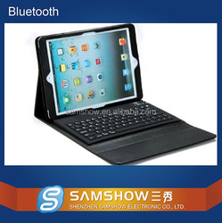 Laptop With Detachable Keyboard Flexible Silicone 9.7 Inch Pc Leather Bluetooth Keyboard Wireless Adapter For Ipad Air 2