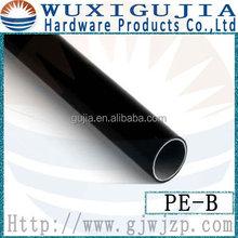 Outer diameter 28mm black plastic coated tube