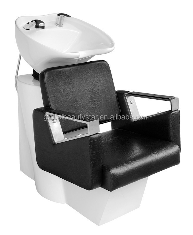 Shampoo chair for hair salon shanmpoo stations bs 504 for Used salon stations
