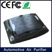 Hot Selling Activated Carbon Filter air purifier for car and negative Ionic Air Purifier for cars