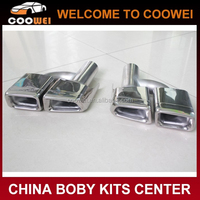 304 Stainless Steel W212 AMG Exhaust Tips For Mercedes Ben-z W212 Exhaust pipe