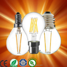 A19 full glass sapphire cob filament led light bulbs replace Edison lamps 60w