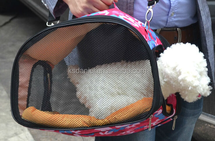 Soft-Sided Pet Carrier Dog Carrier, 39cm*22cm*25cm