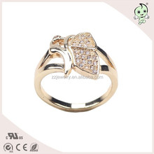 Clever Butterfly Animal Shape Lucky Symbol Sterling Silver Ring