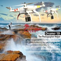 The Newest OEM Rc Quadcopter Drone with 12MP Camera ,2D Gimbal ,5.8G Transmitter and FPV 5.8GHz Receiver LCD By Salange