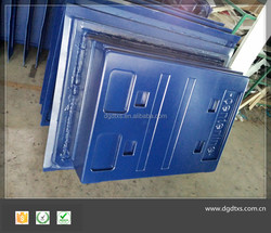 Customized thermoforming plastic equipment cover