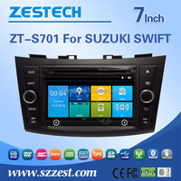 2 din car dvd player for SUZUKI SWIFT double din car dvd radios with TV bluetooth car radio dvd gps player