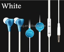 Safe mobile phone radiation free air tube technology fashion style double earphone FC06