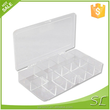 PS boxes container with divisions