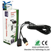 10 feets extension USB charger wire/power cable for xbox360 kinect controller for xbxo 360 kinect video game accessories
