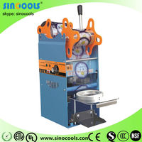 Newest type full stainless steel plastic cup sealing machine high quality plastic Sealing Machine/bag machine WY-802F1