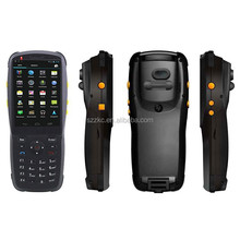 Handheld cheap android 4.2 touch screen terminal barcode scanner with display free API and SDK