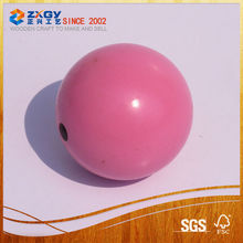 Painted Wooden Ball with Hole