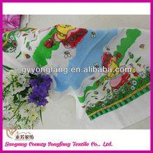 tea set accessories, brand towel gift, jacquard fabric rolled towel