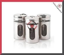 All Stainless Steel / SST Salt and Pepper Bottle Salt and Pepper Shaker Jar