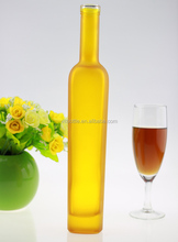 Sealing sale decorating crystal clear flint Antique Ice Wine 375ml glass liquor bottle