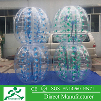 Best selling inflatable bubble roller, inflatable bumper ball IBB21