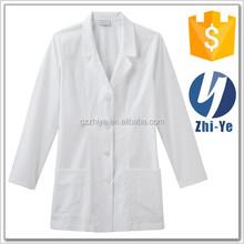 hospital use uniform lab coat white