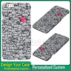 Painting pc Cover Unique Custom DIY Cute Elephant Pattern Cases for iphone 6 6s plus