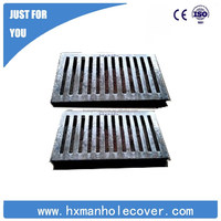 D400 EN124 cast iron grill grate with high quality make to order