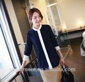 2015 moda mujer manga larga blusa de las mujeres camisa normal modelo