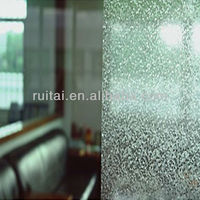 decorative vinyl window glass static film