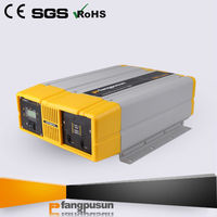 pure sine wave 12v 220v 2000w frequency power inverter with battery charger