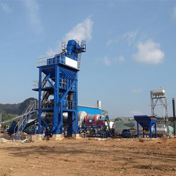 LB500 to 5000 Mini Mobile Cold Asphalt Mixing Plant with price for sale, fixed asphalt mixing plant