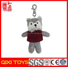 wholesale mini plush fox keychain plush keychain wholesale