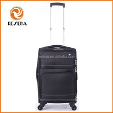 Lightweight Travel Polyester Trolley Luggage Bag With Trolley Handle Luggage Wheels