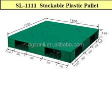 standard flat top double-side plastic pallet
