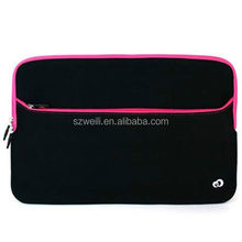"""15"""" inch Pocket Laptop Notebook Carrying Bag Sleeve Case Cover Pink"""