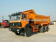 6*4 U style hopper GUM dump truck (Beiben Chassis)