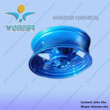 Supply wheels powder coating utilization rate 100%