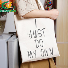 hot sale cotton plain canvas tote shopping bag