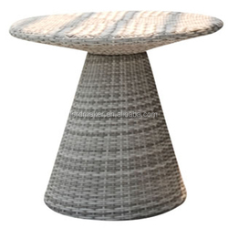 Modern furniture All-Weather Wicker Extension Dining Table
