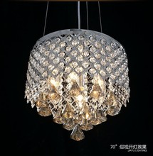 colored glass chandeliers with stainless steel material for home decor