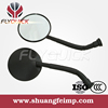 FLYQUICK Universal aftermarket scooter motorcycle rear mirror,motorcycle plastic side mirror,cheap plastic mirrors for HONDA C50