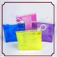 Promotional clear pvc wash bag travel