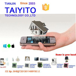 Taiyito 2015 best selling high quality bidirection remote control wireless zigbee smart house with protocol open
