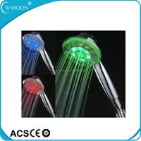 Water Tempereture Control LED Shower 3 Color / Led Meteor Shower Light