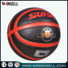 2014 low price laminated pu/pvc custom basketball ball