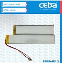 China Manufacture Smallest Battery 7.4v 25C 1500mah Li-Po Battery